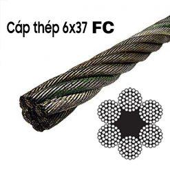 Dây cáp thép mạ 6x37 FC