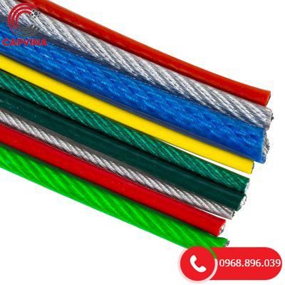 Màu sắc cáp bọc nhựa PVC