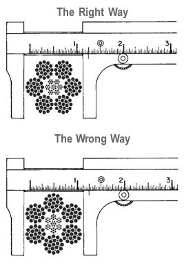 Hướng dẫn đo đường kính dây cáp đúng cách