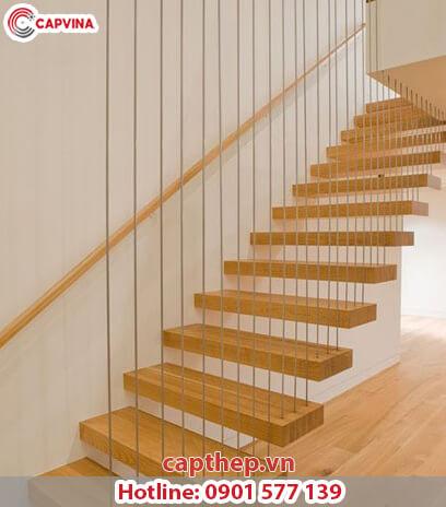 Một số mẫu cầu thang dây cáp siêu đẹp 2