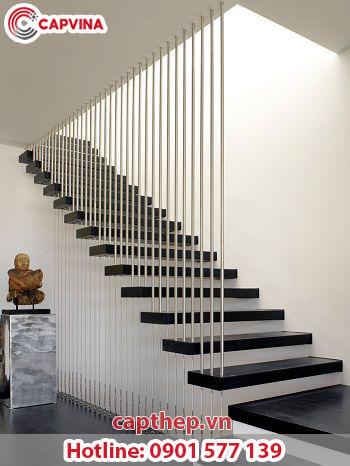 Một số mẫu cầu thang dây cáp siêu đẹp 4