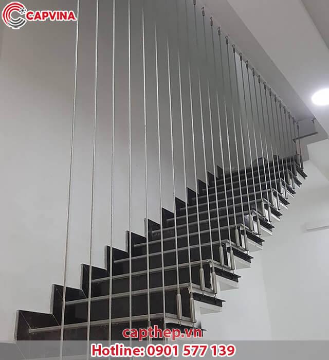 Một số mẫu cầu thang dây cáp siêu đẹp 6